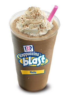 Baskin Robbins Mocha Cappuccino Blast
