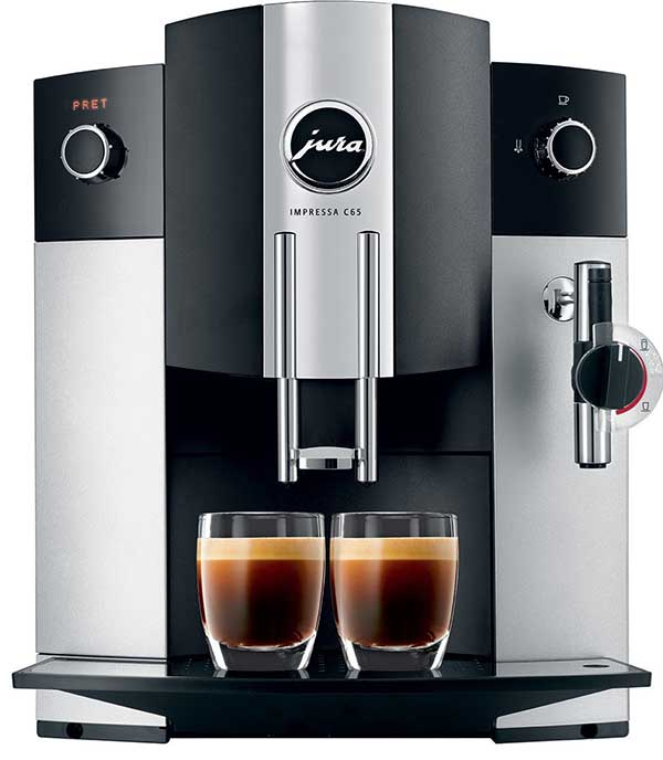 Best Espresso Machine Under 1000 - Jura Impressa C65 Price