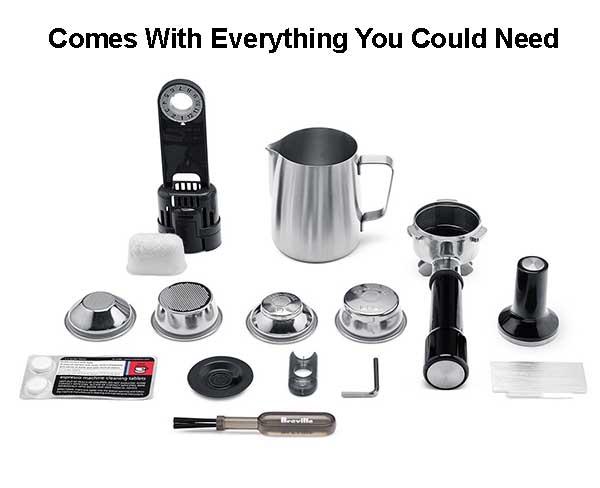 Best espresso machine under 1000 - breville espresso machine