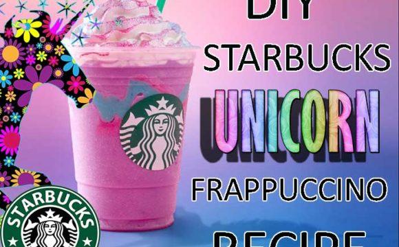DIY Starbucks Unicorn Frappuccino Recipe