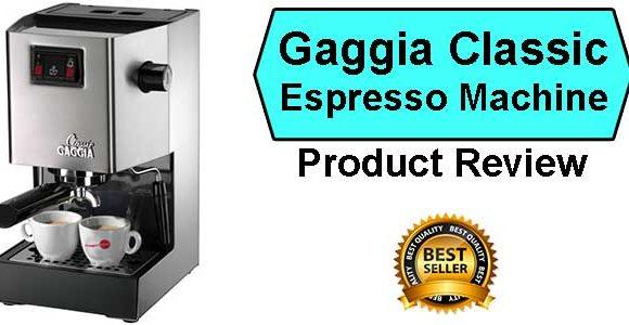 Gaggia Classic Espresso Machine Review