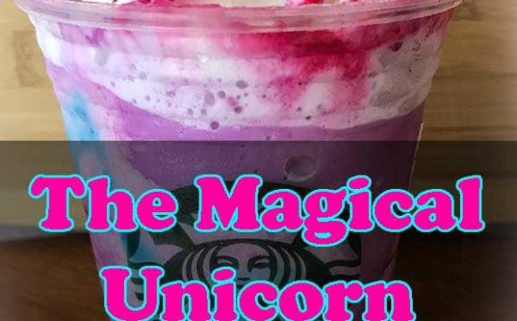How to make Unicorn Frappuccino