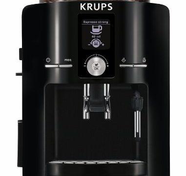 krups espresso machine. Black Bedroom Furniture Sets. Home Design Ideas