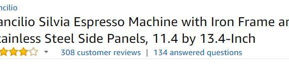 Rancilio Silvia Customer Reviews
