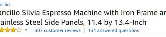 Rancilio Silvia Espresso Machine Price