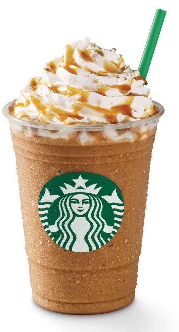 Salted Caramel Mocha Frappuccino - Starbucks