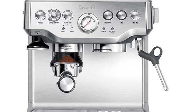 best espresso machine under 1000 - Breville the barista express coffee machine