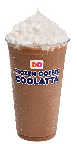 Dunkin Donuts Frozen coffee price
