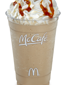 mcdonalds McCaffe Frappuccino