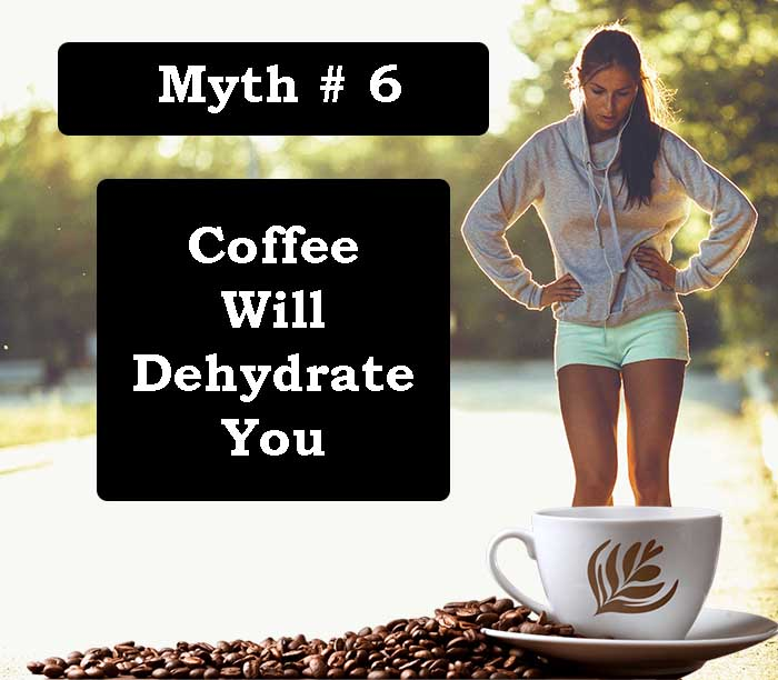Coffee Will Dehydrate You