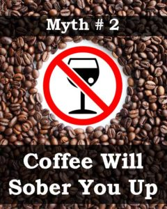 Coffee Will Sober You Up