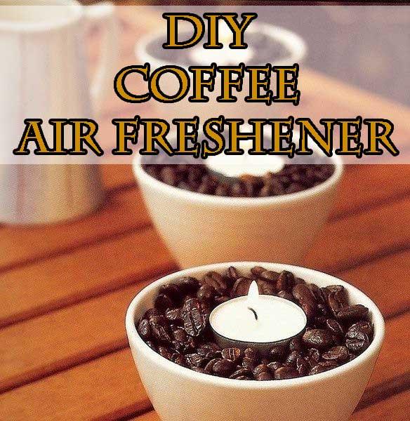 DIY coffee air freshener