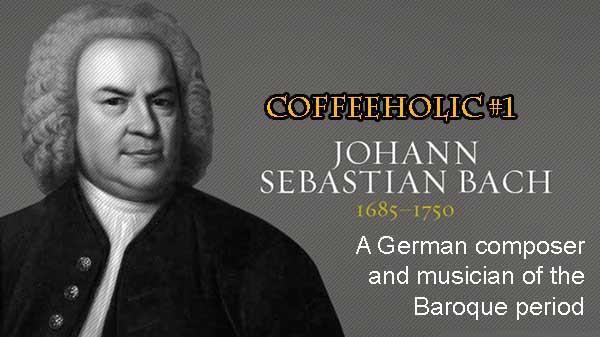 Johann Sebastian Bach Coffee