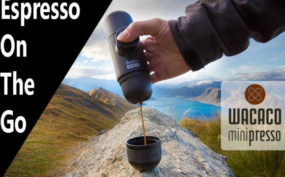 MiniPresso GR Espresso Maker on sale