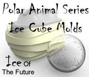 Polar Animal Series Ice Cube Molds
