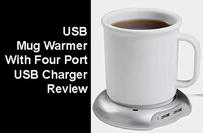 USB Mug Warmer With Four Port USB Charger Buyers Guide