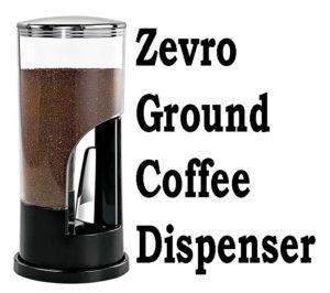 Zevro Ground Coffee Dispenser