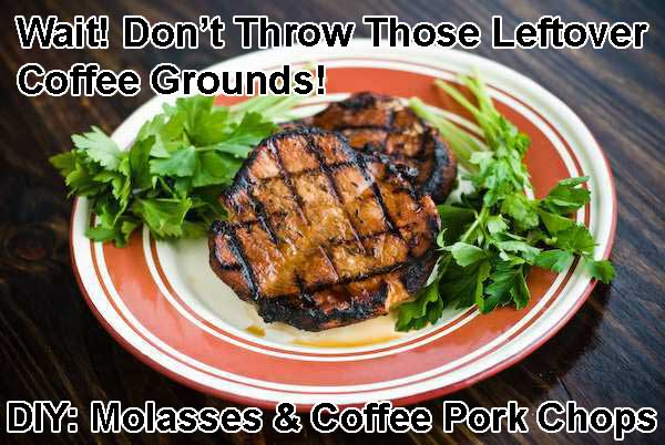 Molasses and Coffee Pork Chops recipe