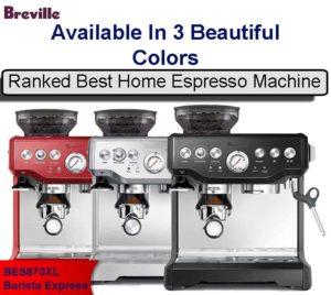 breville best home espresso machine for sale