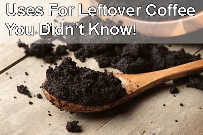 leftover coffee