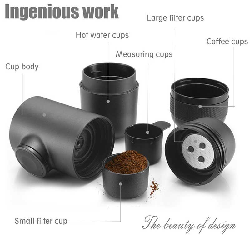 Have Your Own Personal Cup of Espresso Anywhere or Anytime
