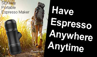 SEKway Portable Espresso Maker