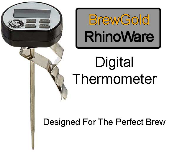 BrewGold Rhinoware Digital Thermometer Price