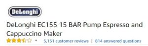 Delonghi Espresso Machine Ratings And Reviews