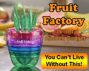 Fruit Factory kitchen gadget