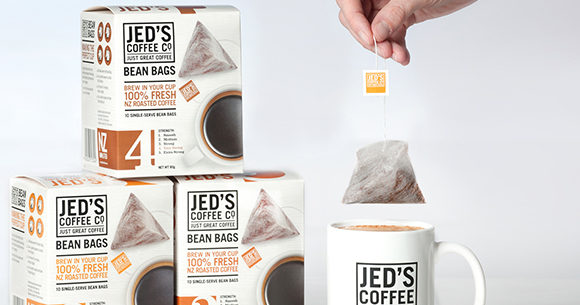 Jed's Coffee Co. Bean Bags