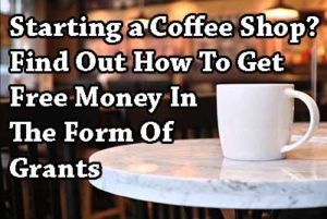 coffee shop grants