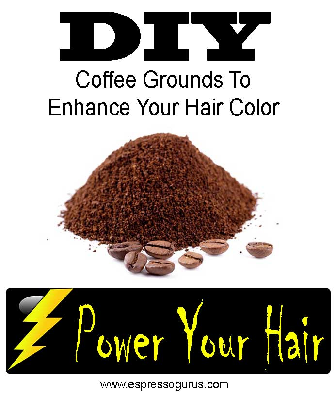 Enhance Your Hair Color with Coffee