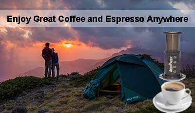 Enjoy Great Coffee And Espresso Anywhere