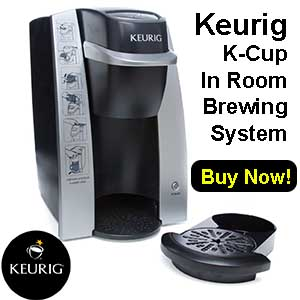 Keurig K-Cup In Room Brewing System Price