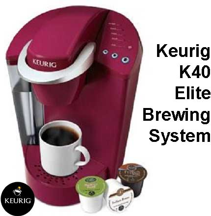 Keurig K40 elite brewing system for sale