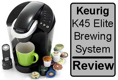 Keurig k45 elite review