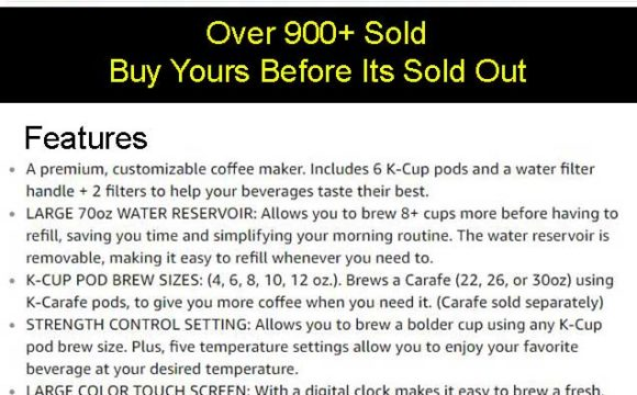 Keurig K475 Coffee Maker Price