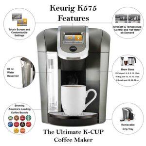 Keurig K575 Features & Specs
