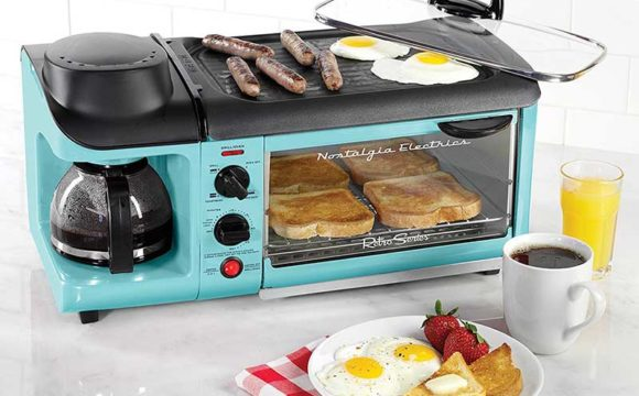 Nostalgia Retro Series 3-in-1 Family Size Breakfast Station Review