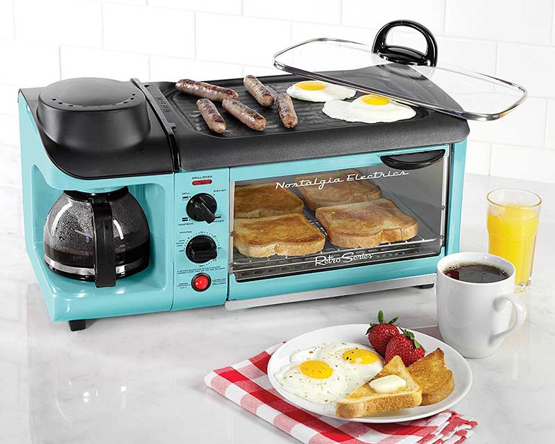 Nostalgia Retro Series 3-in-1 Family Size Breakfast Station Review