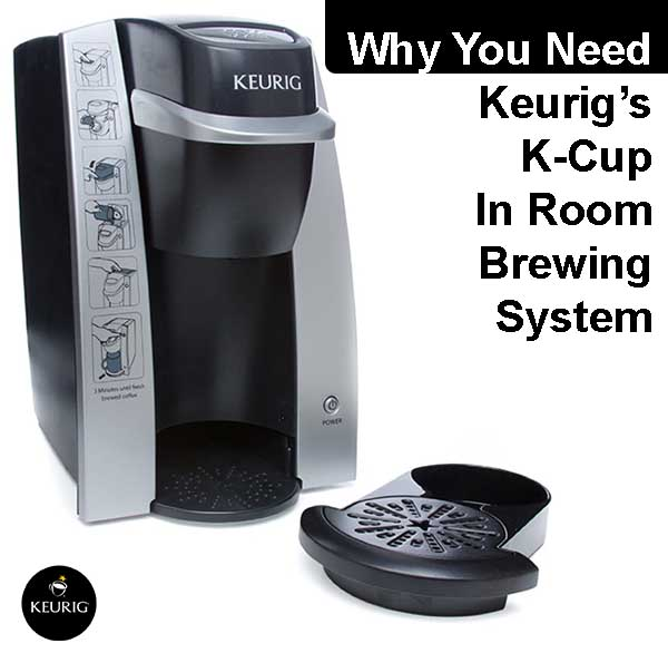 Why You Need Keurigs K-Cup In Room Brewing System