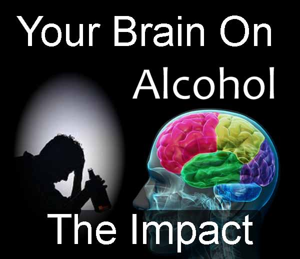 effect of alcohol and coffee on your brain