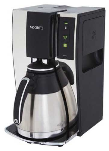 Mr Coffee Smart Coffee Maker Review : mr. coffee smart coffee maker Espresso Guru