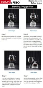 how to brew coffee with a siphon coffee maker