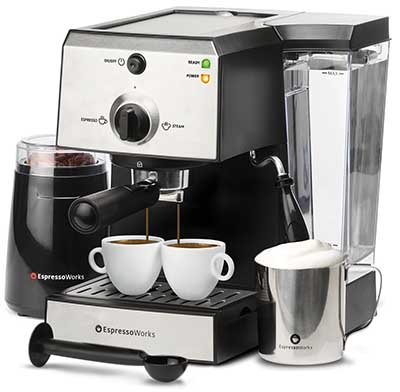 The best All In One Espresso And Cappuccino Maker System Bundle Set Ranked