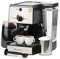 EspressoWorks All In One Espresso And Cappuccino Maker Bundle Set Lowest Price Offer