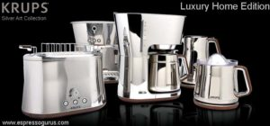 KRUPS KT600 Silver Art Collection Luxury Coffee Maker