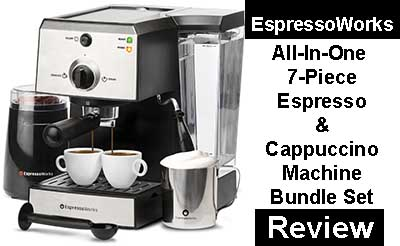 EspressoWorks All In One Espresso & Cappuccino Maker System Review