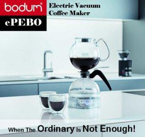 Bodum ePEBO Electric Vacuum Coffee Maker