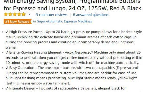 home espresso machine ratings